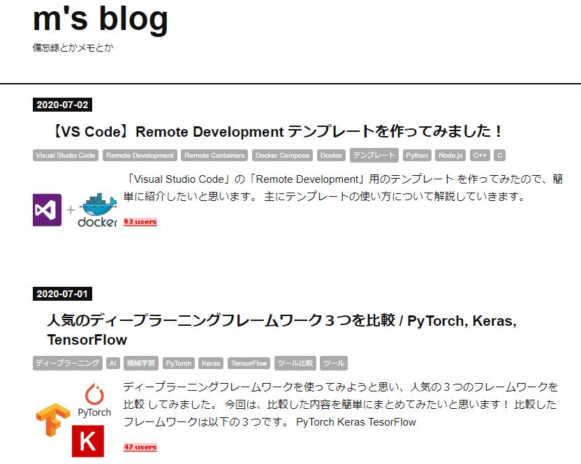 m's blog